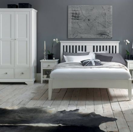 Hampstead White Painted Bedroom Furniture